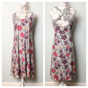 Patagonia floral dress back straps size XLARGE
